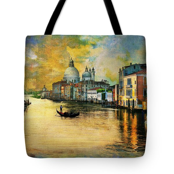 Italy 01 Tote Bag by Catf