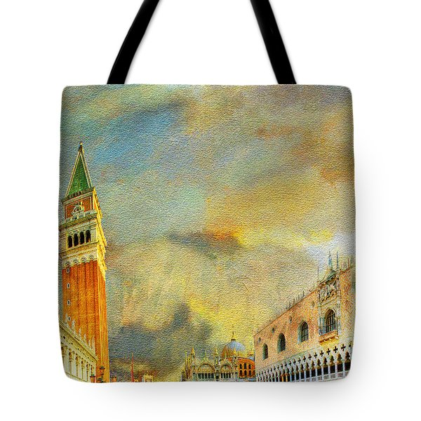 Italy 03 Tote Bag by Catf