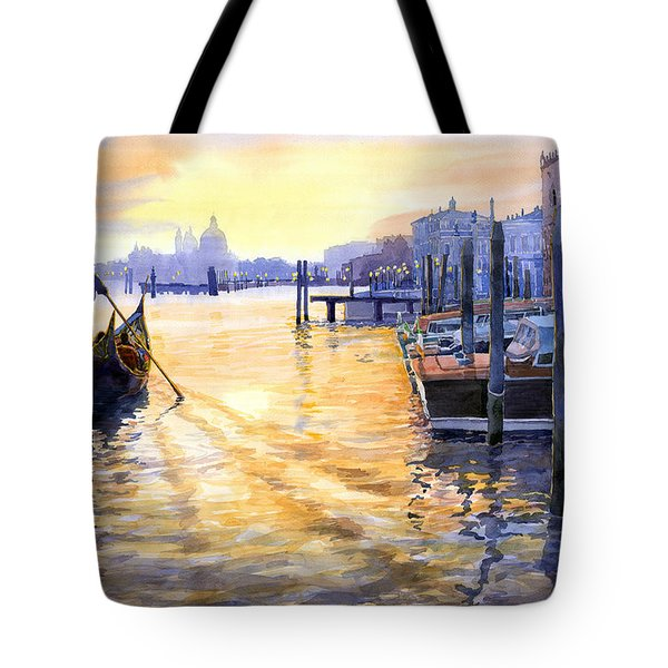 Italy Venice Dawning Tote Bag