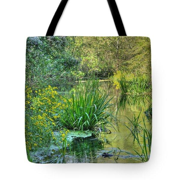 Itchetucknee Springs 01 Tote Bag