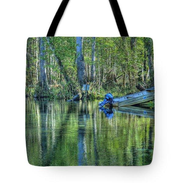 Itchetucknee Springs 04 Tote Bag
