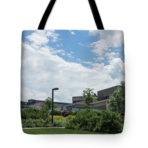 Ithaca College Campus Tote Bag