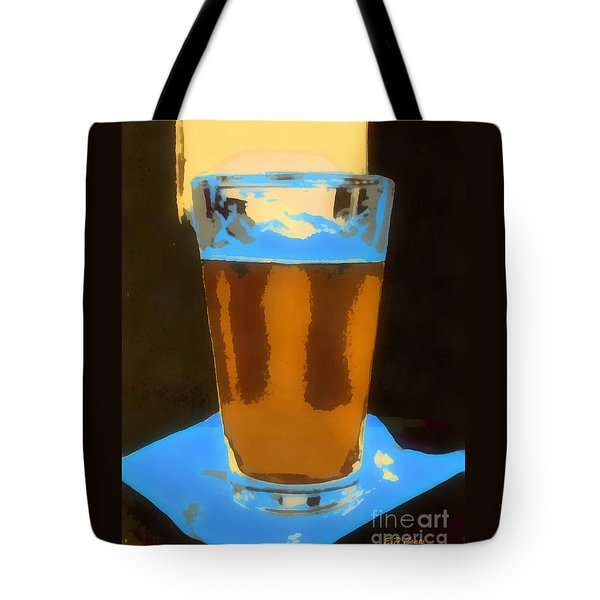 Tote Bag featuring the painting It's 5 O'clock Somewhere by Elizabeth Coats