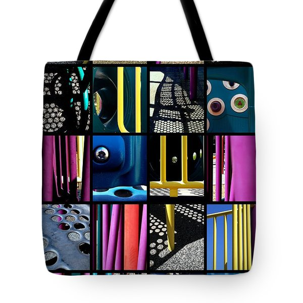 Its A Jungle Gym Out There Tote Bag