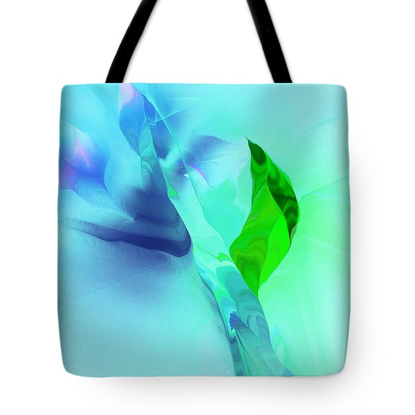 Tote Bag featuring the digital art It's A Mystery  by David Lane