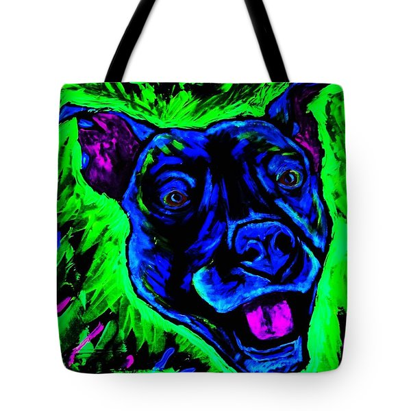 It's A Pitty Black Light Tote Bag