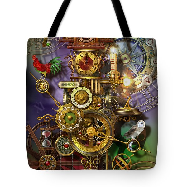 Its About Time Tote Bag by Ciro Marchetti
