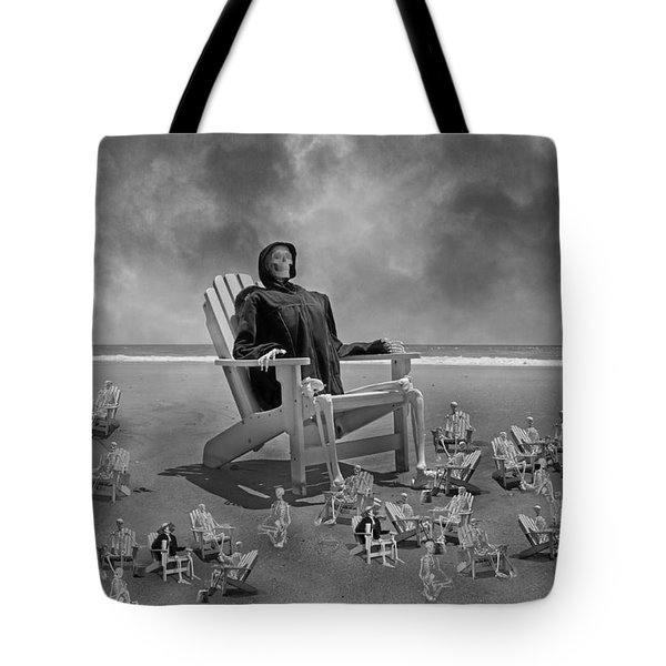 It's All In Black And White Tote Bag