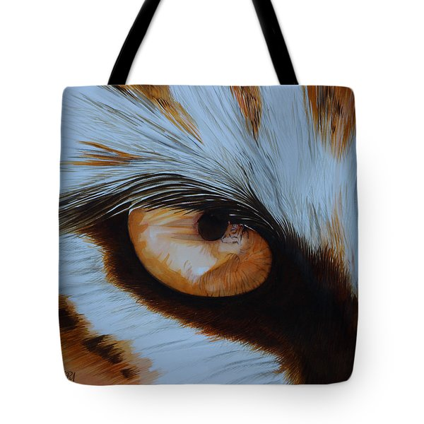 It's All In The Close Up Tote Bag