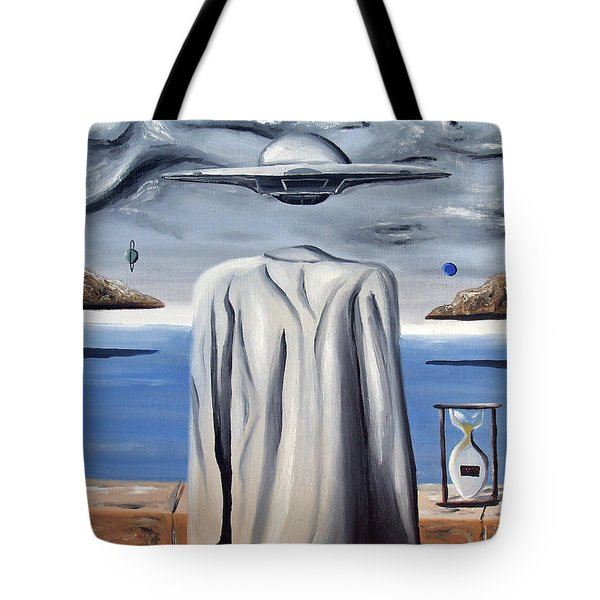 Tote Bag featuring the painting Its All In Your Head by Ryan Demaree