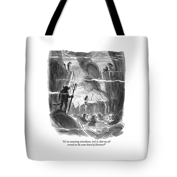 It's An Amazing Coincidence Tote Bag
