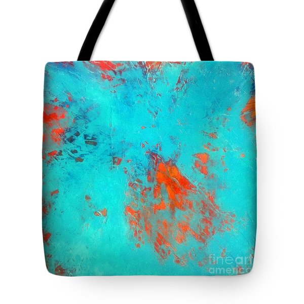 It's Becoming Clear Now Tote Bag