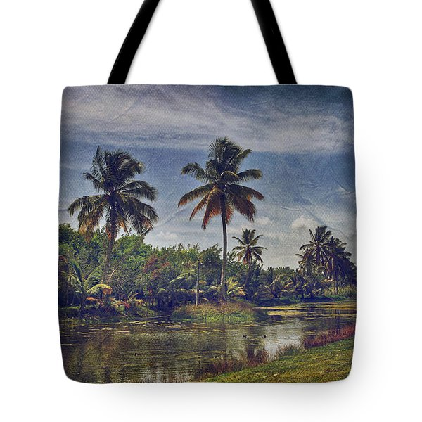 It's Hanging In The Air Tote Bag