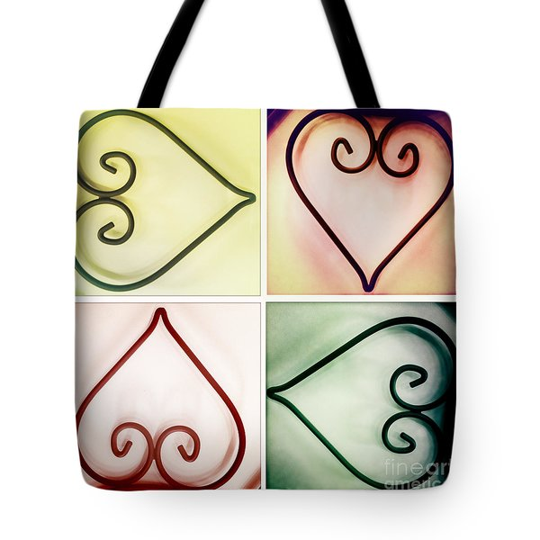 It's Love No Matter Which Way You Look At It Tote Bag by Linda Lees