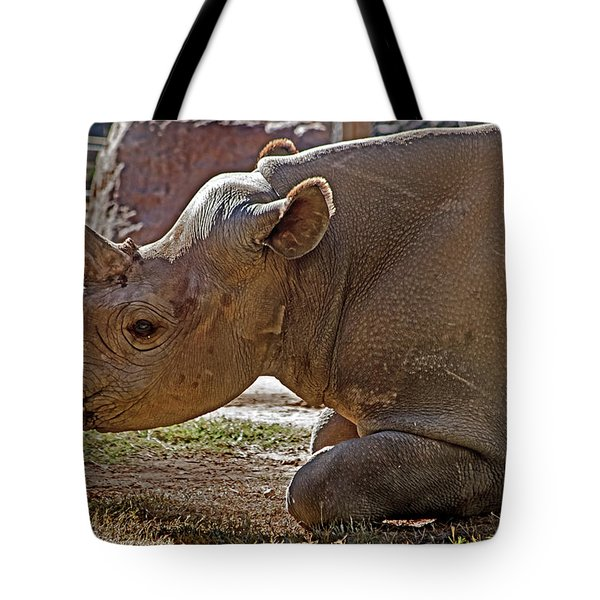 Its My Horn Not Your Medicine Tote Bag by Miroslava Jurcik