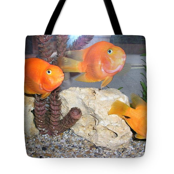 It's Not Polite To Stare Tote Bag by Bev Conover