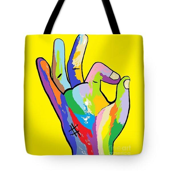 It's Ok Tote Bag by Eloise Schneider