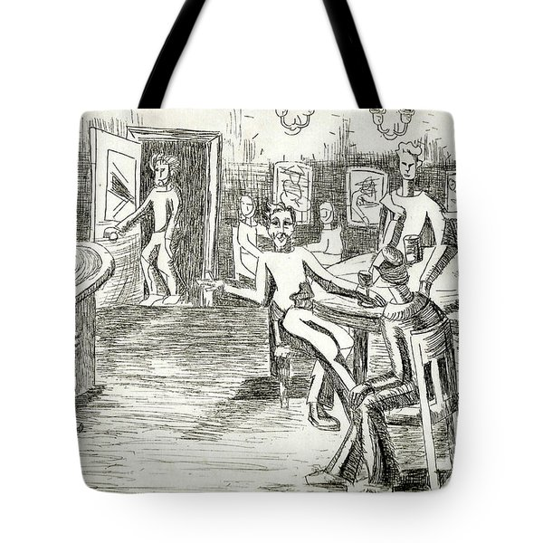 Its On Me Tote Bag by Genevieve Esson