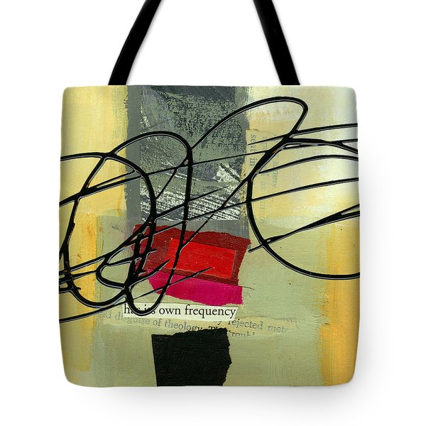 Its Own Frequency Tote Bag by Jane Davies
