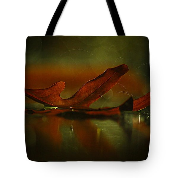Its Raining Fall  Tote Bag