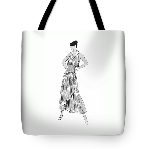 It's Sarong It's Right Tote Bag by Sarah Parks