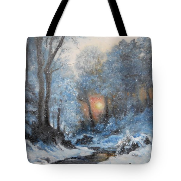 It's Winter Tote Bag