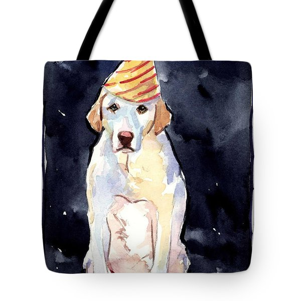 It's Your Birthday Tote Bag by Molly Poole