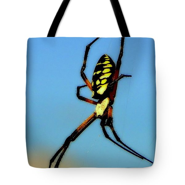 Itsy Bitsy Spider Tote Bag by Karen Wiles