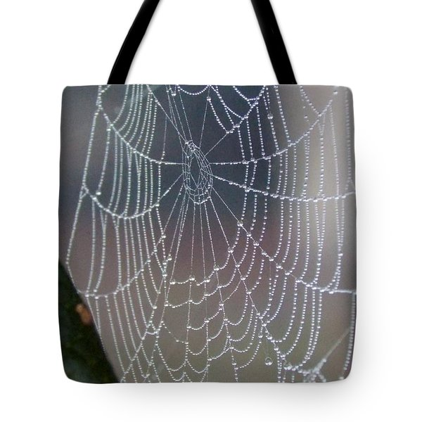 Tote Bag featuring the photograph Ittsy Bittsy Spider by John Glass