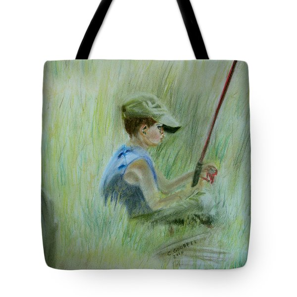 Ivan And The Red Rod Tote Bag