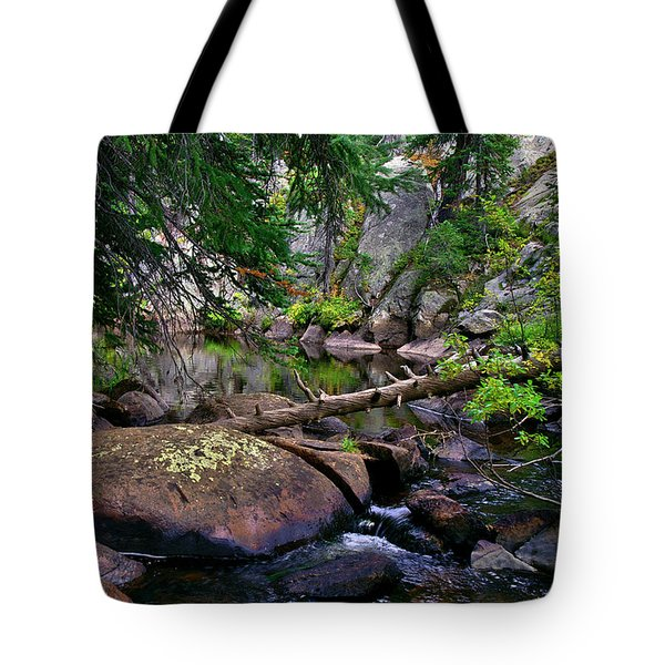 Tote Bag featuring the photograph Ivanhoe Serenity by Jeremy Rhoades