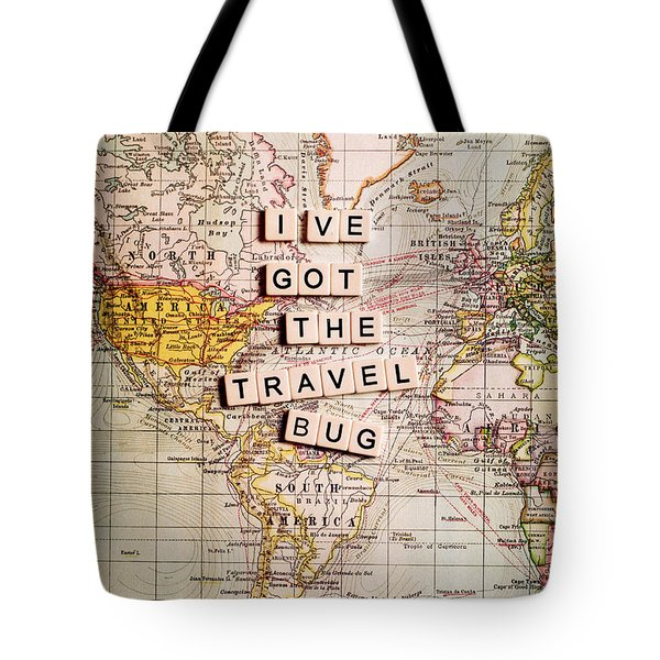 I've Got The Travel Bug Tote Bag