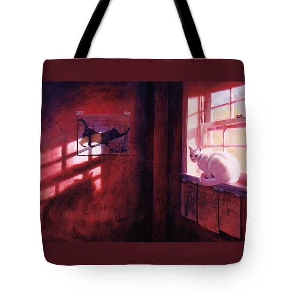 Ivory's Shadow Tote Bag by Blue Sky