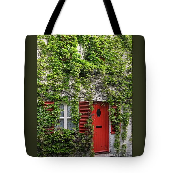 Ivy Cottage Tote Bag by Ann Horn