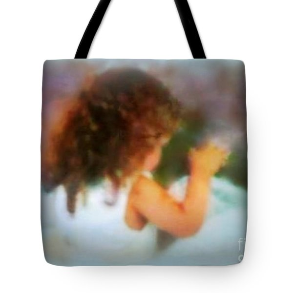 Ivy Rose  Spring's Child Tote Bag