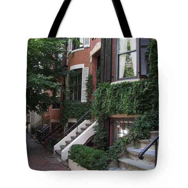 Ivy Walls Tote Bag