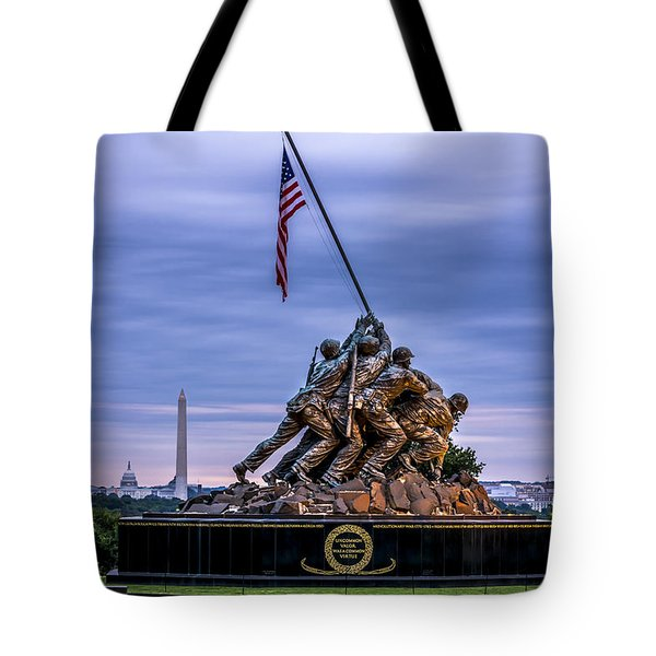 Iwo Jima Monument Tote Bag