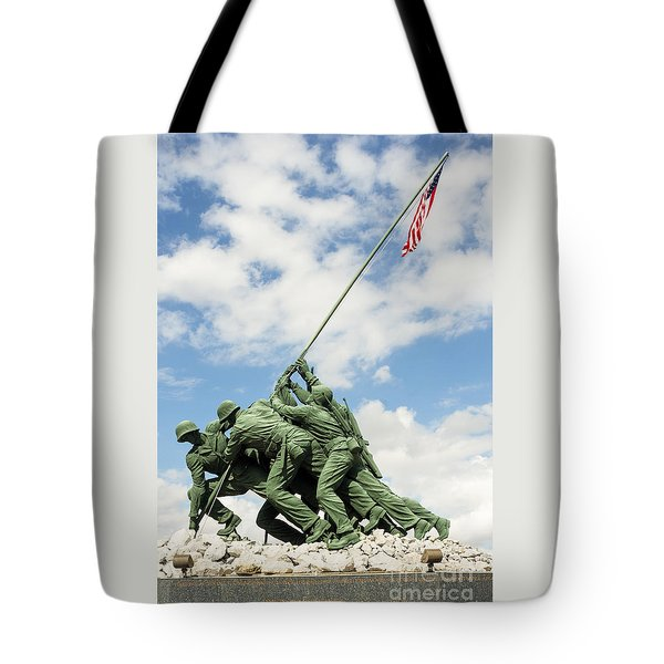 Iwo Jima Monument II Tote Bag