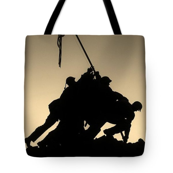 Iwo Tote Bag by Robert Geary