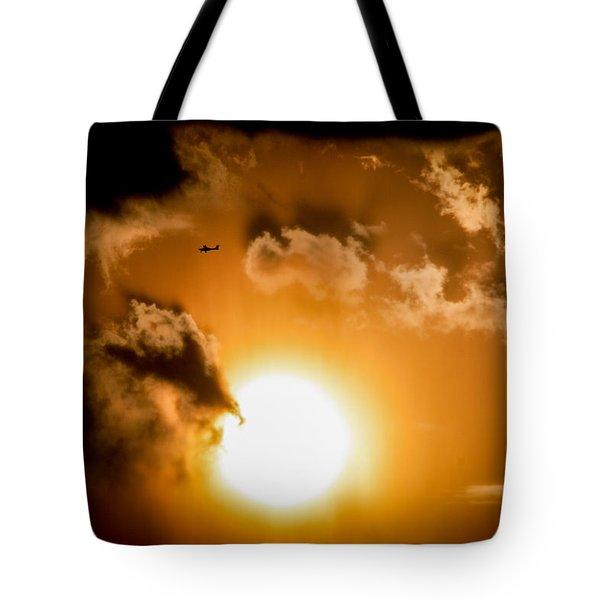 Tote Bag featuring the photograph Jabiru Sunset Cloud by Paul Job