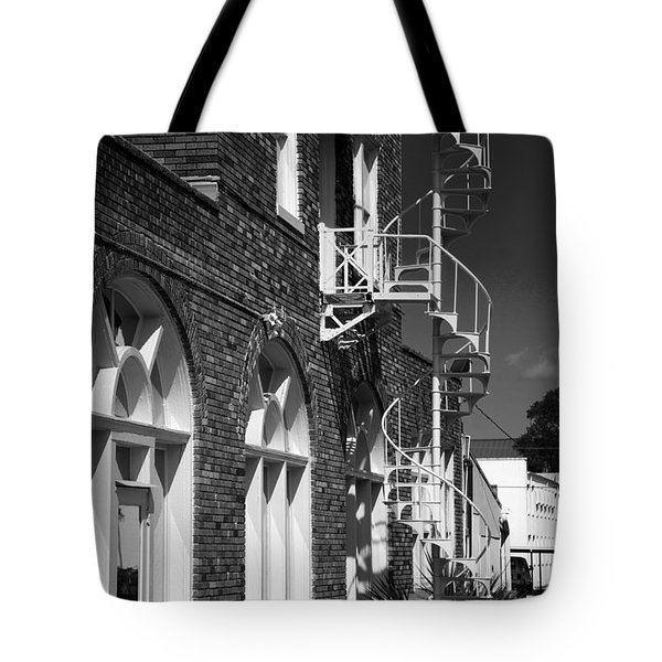 Jacaranda Hotel Fire Escape Tote Bag