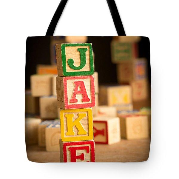Jake - Alphabet Blocks Tote Bag