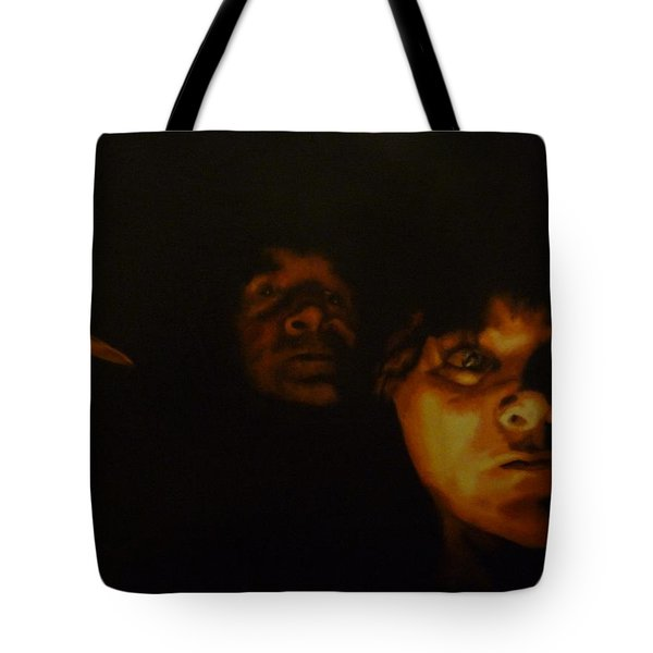 Tote Bag featuring the painting Jack And Polly by Cherise Foster
