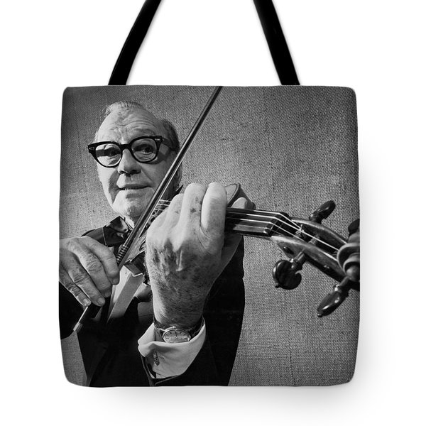Jack Benny Farewell Tote Bag by Underwood Archives