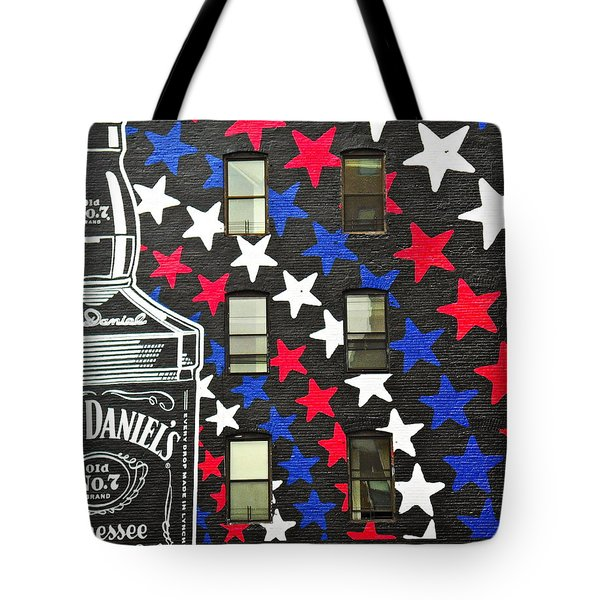 Tote Bag featuring the photograph Jack Daniel's Wall Art by Joan Reese