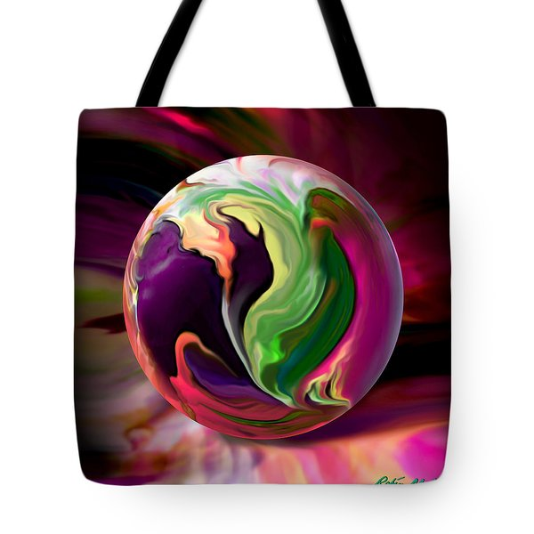 Jack In The Pulpit Globe Tote Bag