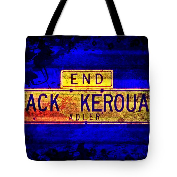 Jack Kerouac Alley Tote Bag