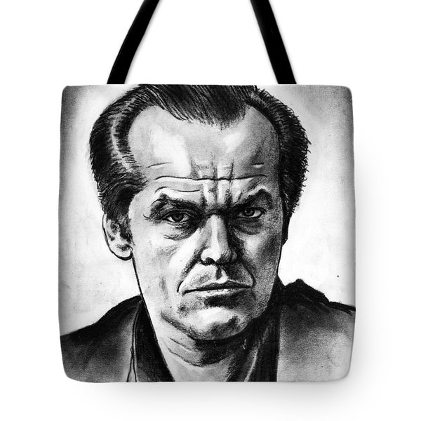 Jack Nicholson Tote Bag by Salman Ravish