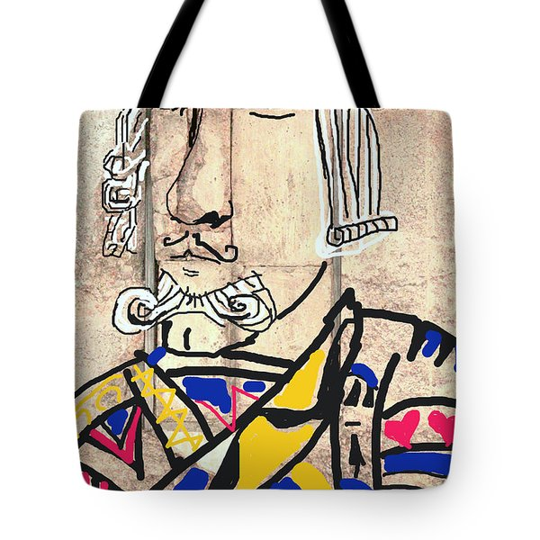 Jack The King Tote Bag