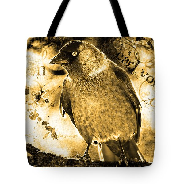Jackdaw Tote Bag by Tommytechno Sweden